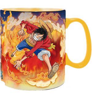 One Piece - Luffy & Sabo (Termosensibile)