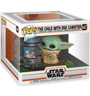 Funko Pop! Star Wars The Mandalorian - The Child With Egg Canister (11 cm)
