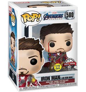 Funko Pop! Marvel Avengers Endgame - I Am Iron Man (Glow in The Dark, 9 cm)