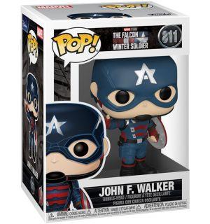 Funko Pop! Marvel The Falcon & Winter Soldier - John F. Walker (9 cm)