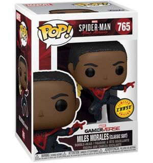 Funko Pop! Marvel's Spider-Man - Miles Morales (Chase Edition, 9 cm)