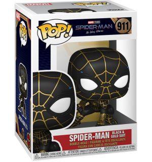 Funko Pop! Marvel Spider-Man No Way Home - Spider-Man (Black & Gold Suit, 9 cm)