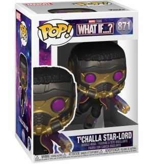 Funko Pop! Marvel What If - T'Challa Star-Lord (9 cm)