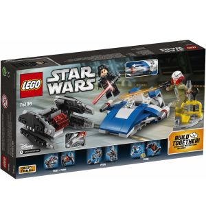 Lego Star Wars - A-Wing Vs Microfighter Tie Silencer