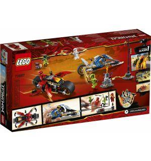 LEGO NINJAGO - MOTO-LAMA DI KAI E MOTO-NEVE DI ZANE
