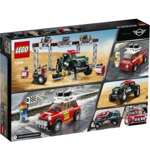 Lego Speed Champions - 1967 Mini Cooper S Rally And 2018 Mini John Cooper Works Buggy