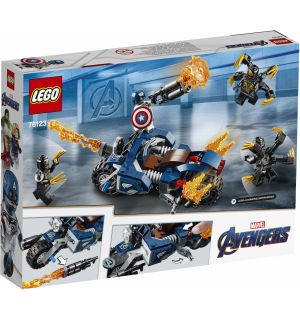 LEGO MARVEL AVENGERS - CAPTAIN AMERICA OUTRIDERS ATTACK