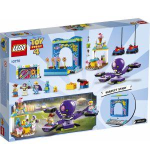Lego 4+ Toy Story 4 - Buzz E Woody E La Mania Del Carnevale!