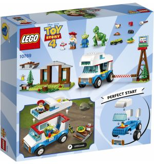 Lego 4+ Toy Story 4 - Vacanza In Camper
