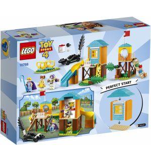 Lego 4+ Toy Story 4 - Avventura Al Parco Giochi Di Buzz E Bo Peep