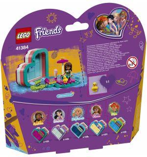 Lego Friends - La Scatola Del Cuore Dell'Estate Di Andrea