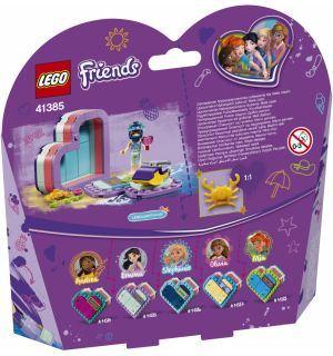Lego Friends - La Scatola Del Cuore Dell'Estate Di Emma