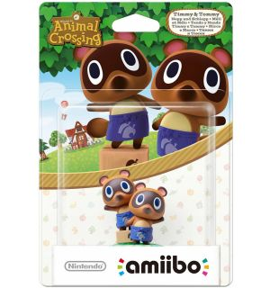 AMIIBO ANIMAL CROSSING - TIMMY AND TOMMY