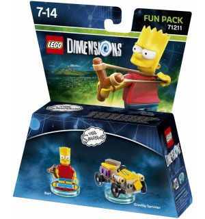 LEGO DIMENSIONS THE SIMPSONS - BART (FUN PACK)