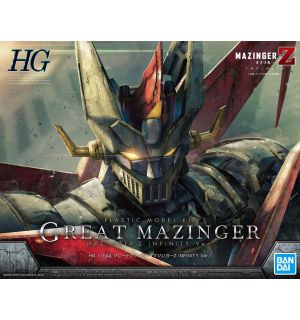 HG GREAT MAZINGER INFINITY (SCALA 1/144)