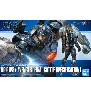 HG PACIFIC RIM GIPSY AVENGER FINAL BATTLE SPEC (18 CM)