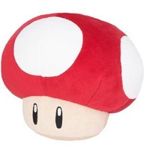 Super Mario - Super Fungo (Rosso, 15 cm)