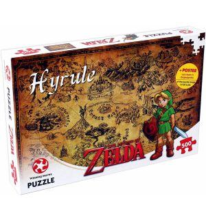 The Legend Of Zelda - Hyrule (500 pz)