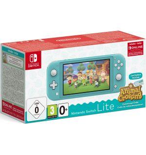 Nintendo Switch Lite (Turchese) + Animal Crossing New Horizon