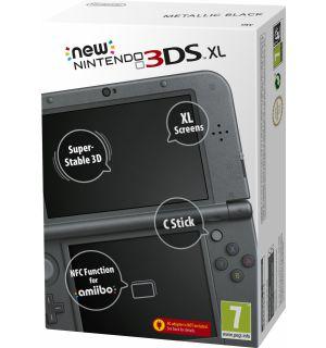 New Nintendo 3DS XL (Nero Metallizzato)