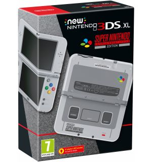 New Nintendo 3DS XL (Super Nintendo Edition)