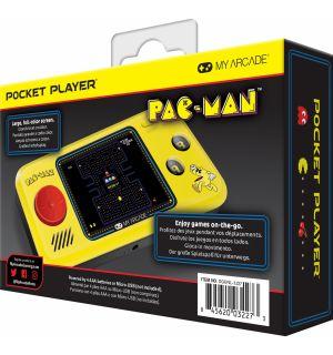 POCKET PLAYER PORTABLE - PAC-MAN, PAC-PANIC, PAC-MANIA