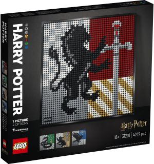 Lego Art - Harry Potter: Stemmi Di Hogwarts