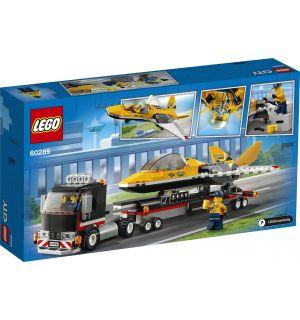 Lego City - Trasportatore Di Jet Acrobatico