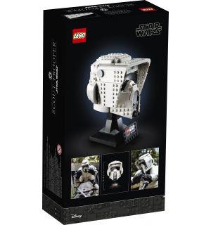 Lego Star Wars - Casco Da Scout Trooper