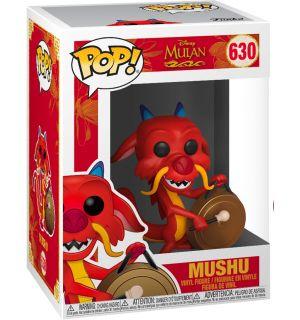 Funko Pop! Disney Mulan - Mushu With Gong (9 cm)