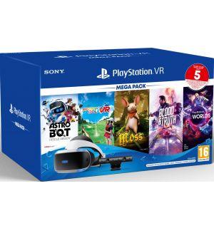 Playstation VR Mega Pack V3 (PS Camera V2 + 5 giochi)