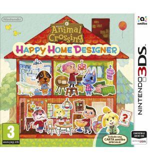 Animal Crossing Happy Home Designer + Amiibo Card