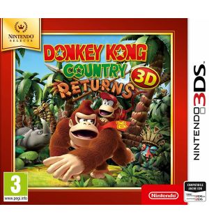Donkey Kong Country Returns 3D (Selects)