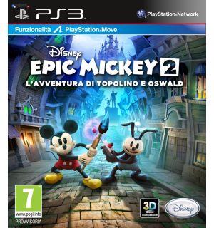 Disney Epic Mickey 2 L'avventura Di Topolino E Oswald