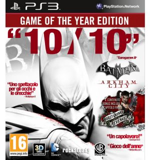 Batman Arkham City (Game Of The Year Edition)