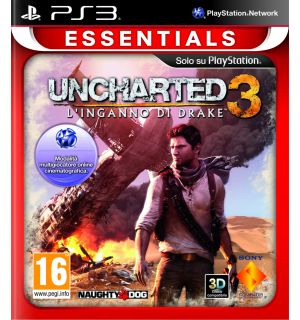 UNCHARTED 3 DRAKE'S DECEPTION(ESSENTIALS)