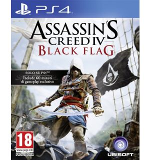 ASSASSIN'S CREED 4 BLACK FLAG(DAY ONE SONY EDITION)