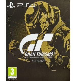 GT SPORT (STEELBOOK EDITION, VR COMPATIBILE)