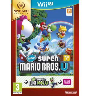 New Super Mario Bros U + New Super Luigi U (Selects)