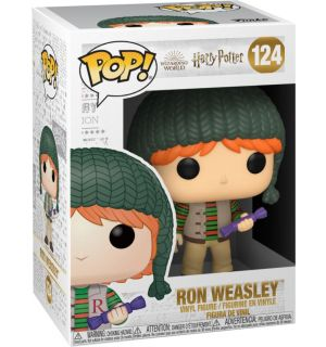 FUNKO POP! HARRY POTTER HOLIDAY - RON WEASLEY (9 CM)