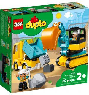 LEGO DUPLO - CAMION E SCAVATRICE CINGOLATA