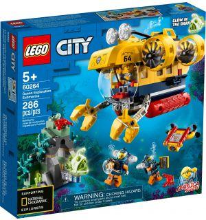 LEGO CITY - SOTTOMARINO DA ESPLORAZIONE OCEANICA