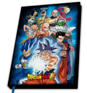 Dragon Ball Super - Universe 7 (Notebook, A5)