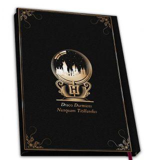Harry Potter - Hogwarts (Notebook, A5)
