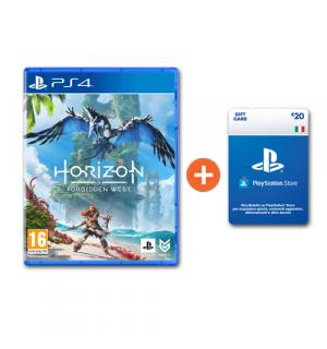 Horizon Forbidden West + Ricarica Playstation € 20 a soli € 71