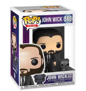 Funko Pop! John Wick - John Wick With Dog (9 cm)