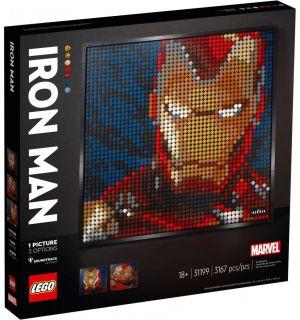 Lego Art - Iron Man Marvel Studios