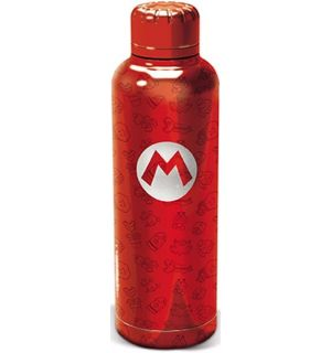 Nintendo - Super Mario (Metallo, 515 ml)
