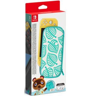 Custodia+Pellicola Protettiva Animal Crossing (Switch Lite)