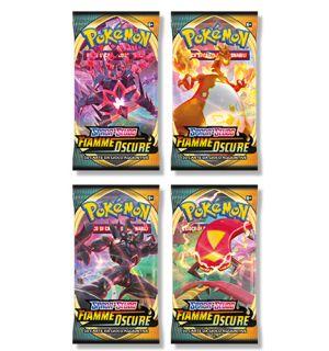 Pokemon - Spada e Scudo Fiamme Oscure (Busta, Soggetti Vari)
